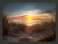 Fototapete Sonnenuntergang am Atlantik 193 cm x