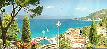 Fototapete Stadt Am Meer 3D Wandbilder Für