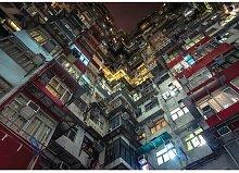 Fototapete Stadt Nacht Papier 1.84 m x 254 cm East