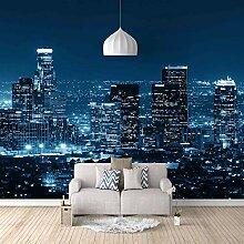 Fototapete Stadt Nachtszene Moderne Wandbild