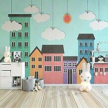Fototapete Stadtarchitektur Kinderzimmer