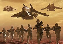 Fototapete Star Wars Angriff der Klonkrieger (312