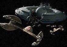 Fototapete Star Wars Druidenkontrollschiff (416 x