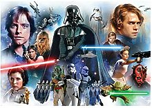 Fototapete Star Wars Jungen Kinder Teenager Wand Wandbild (1592ve), 368cm x 254cm (WxH)