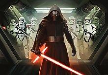 Fototapete Star Wars Kylo Ren Stromtrooper (416 x