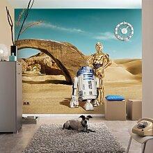 Fototapete Star Wars Lost Droids 254 cm L x 368 cm