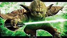 Fototapete Star Wars Meister Yoda (104 x 70,5cm -