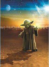 Fototapete Star Wars Meister Yoda 254 cm L x 184