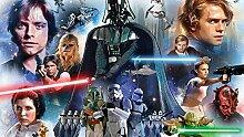 Fototapete Star Wars Skywalker Darth Vader Han