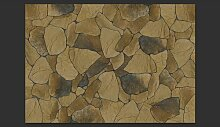 Fototapete Stein Blätter 280 cm x 400 cm East