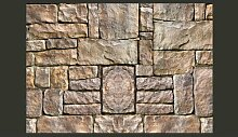 Fototapete Stein-Puzzle 210 cm x 300 cm East Urban