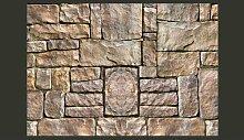 Fototapete Stein-Puzzle 245 cm x 350 cm East Urban