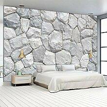 Fototapete Steinwand 3D Wandbilder Für Fernseher