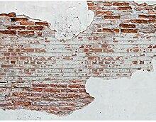 Fototapete Steinwand Vlies Wand Tapete Wohnzimmer
