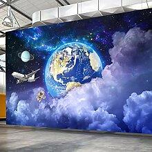 Fototapete Sterne Universum Galaxie 3D Planeten
