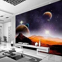 Fototapete Sternenhimmel Landschaft Vlies Tapete