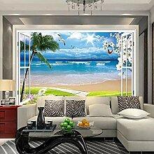 Fototapete Strand Am Meer 3D Tv Tapetenwandbilder
