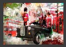 Fototapete STreets of London 210 cm x 300 cm