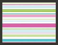 Fototapete Süße Streifen 154 cm x 200 cm