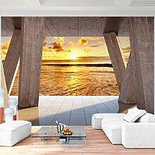 Fototapete Sunset396 x 280 cm - Vliestapete - Wandtapete - Vlies Phototapete - Wand - Wandbilder XXL - !!! 100% MADE IN GERMANY !!! Runa Tapete 9139012a