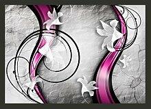 Fototapete Tanz mit Lilien 245 cm x 350 cm