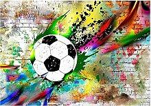Fototapete Tapete 3d Effekt Sport Fußball