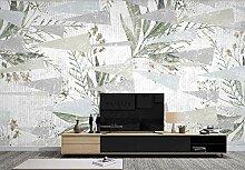 Fototapete Tapete 3D Hand Gezeichnetes Botanisches
