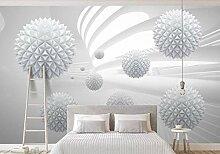 Fototapete Tapete 3D Moderner Bereich Mit Weißem