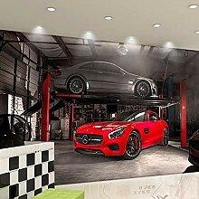 Fototapete Tapete 3D Tapetenwand Auto 3D Änderte