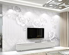 Fototapete Tapete 3D Wandbild Eleganter Geprägter