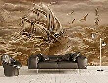 Fototapete Tapete 3D Wandbild Geprägte Segelvogel