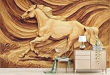 Fototapete Tapete 3D Wandbild Lebhaftes Und