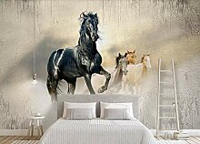 Fototapete Tapete 3D Wandbild Ölgemälde