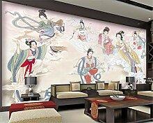 Fototapete Tapete des Fotos 3D chinesische sieben