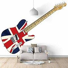 Fototapete Tapete Foto 3D HD Vlies Gitarre DIY