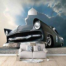 Fototapete Tapete Foto 3D HD Vlies Retro Auto DIY