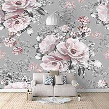 Fototapete Tapete Foto 3D HD Vlies Vintage Blume