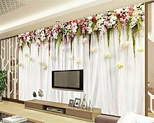 Fototapete Tapete Für Wände 3 D Blumen Reben