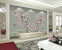 Fototapete Tapete Für Wände 3 D Blumen Und