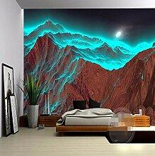 Fototapete Tapete Für Wände 3 D Hd Nacht Berg