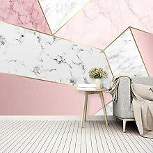 Fototapete Tapete Für Wände 3D Pink Geometrische