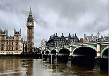 Fototapete Tapete London Big Ben Skyline Foto 360