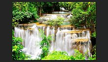 Fototapete Thai Wasserfall 245 cm x 350 cm