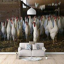 Fototapete Tierherde, Tiere Moderne Wandbild
