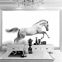 Fototapete Tierpferd 140CM x 100CM Vlies Tapete