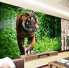Fototapete Tiger Dschungel Auf Der Suche Nach