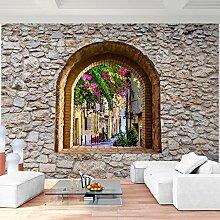 Fototapete Toscana 352 x 250 cm - Vliestapete - Wandtapete - Vlies Phototapete - Wand - Wandbilder XXL - Runa Tapete 9017011a