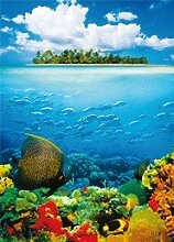 Fototapete Treasure Island (4tlg.)