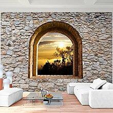Fototapete Tropical Sunset 352 x 250 cm - Vliestapete - Wandtapete - Vlies Phototapete - Wand - Wandbilder XXL - Runa Tapete 9017011b