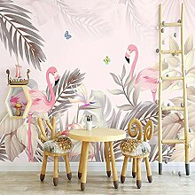 Fototapete Tropische 3D-Palmen Wand Tapete
